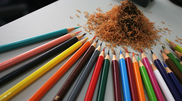 Coloured Pencils Crowdsourcing