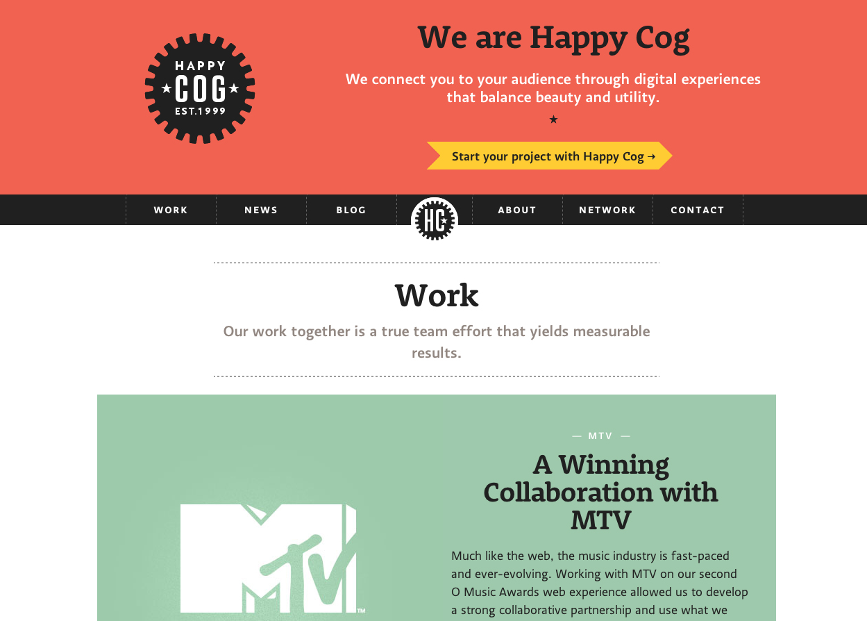 Happy Cog Creative Design Agency