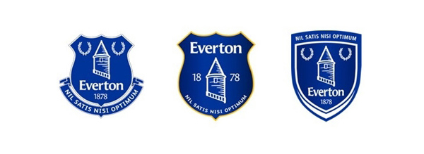 Everton FC Crest Fan Choices