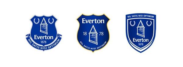 Everton FC Crest Fan Choices