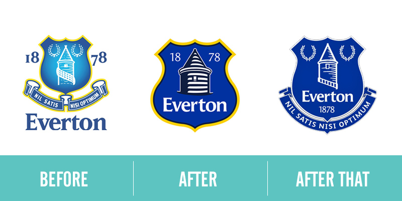 Everton FC Logo Redesigns