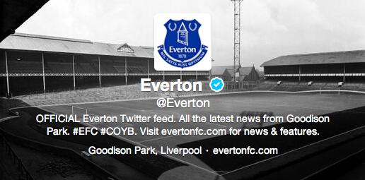 New Everton Logo 2014-2015 Twitter