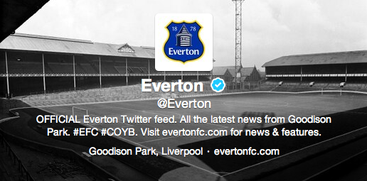 New Everton Logo Twitter