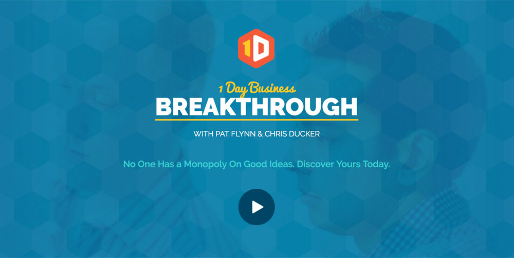 1 Day Business Breakthrough with Pat Flynn and Chris Ducker
