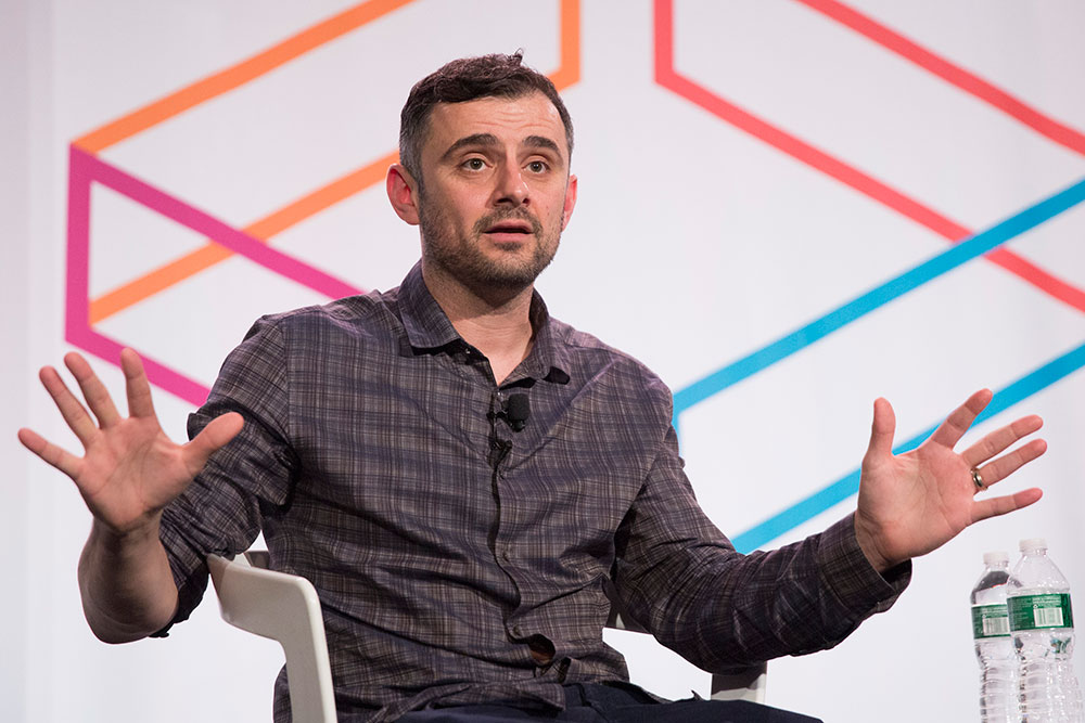 Photo of Gary Vaynerchuk on Stage