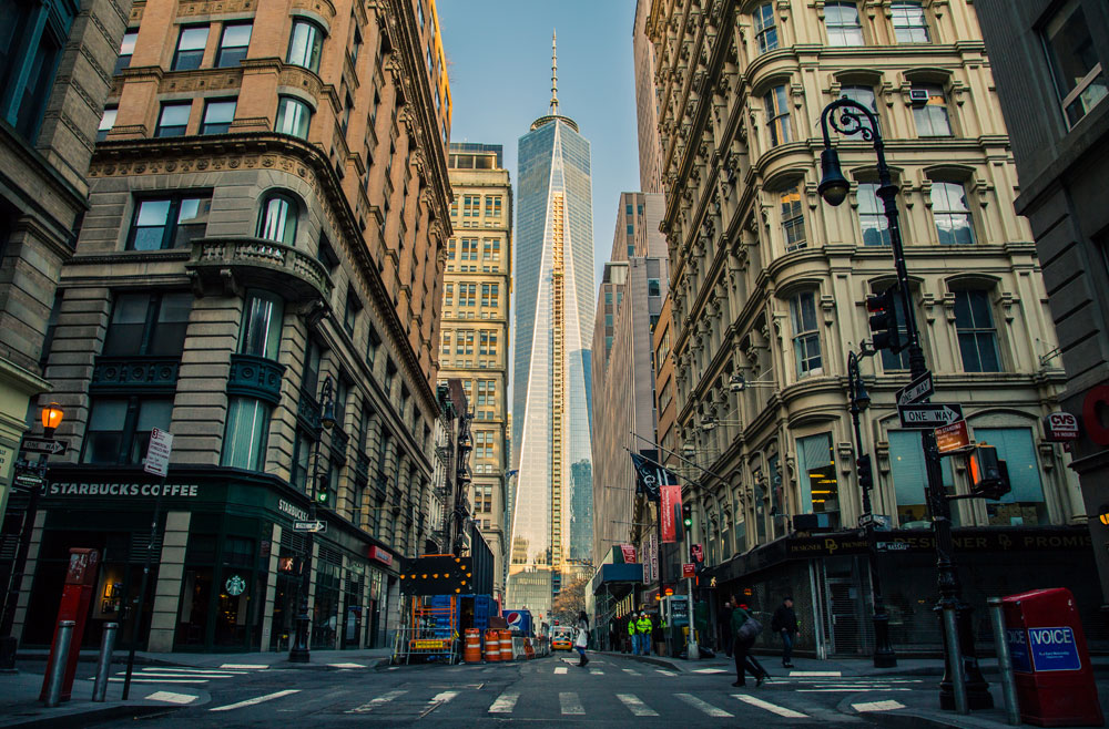 Hotels and Buildings in Downtown New York - Hotel SEO