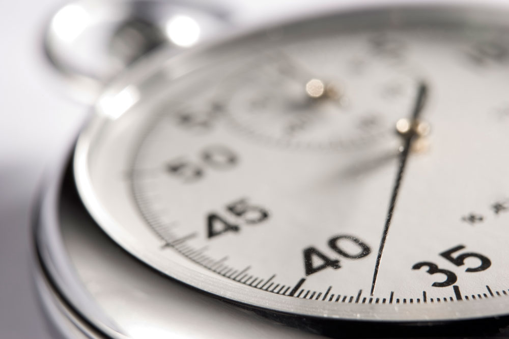 Photograph of a Stopwatch - Reduce Your Load Time for Better Hotel SEO Results