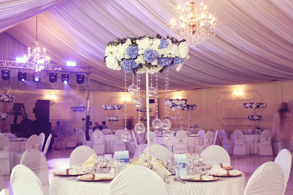 Beautiful wedding event