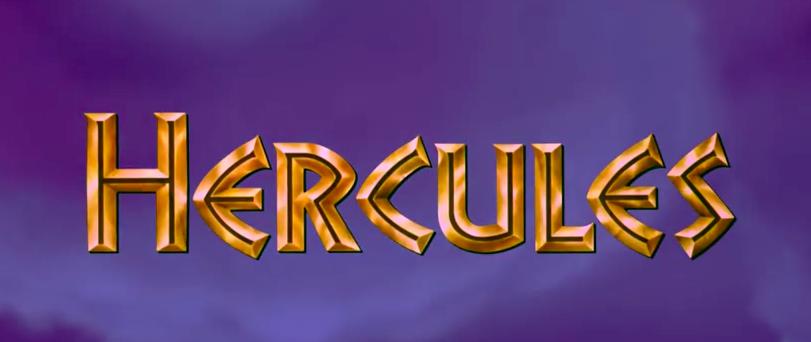 Hercules Movie font
