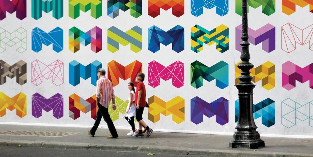 City of Melbourne Rebranding - M Logo Design