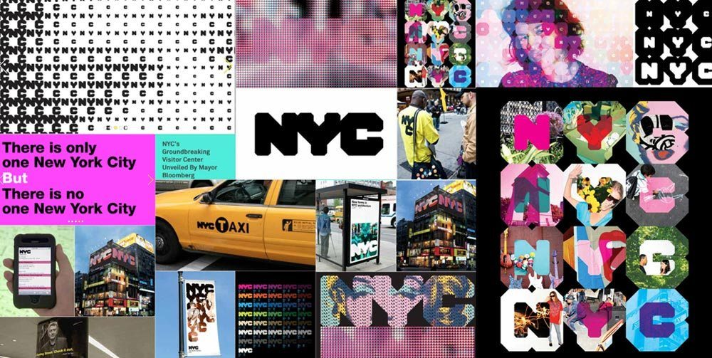 New York City Rebrand by Wolff Olins