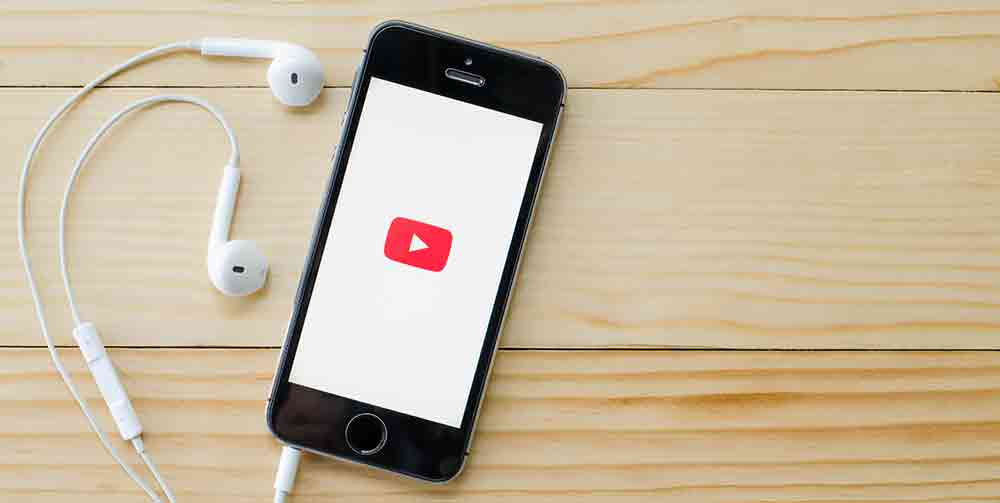 YouTube Business App on iPhone