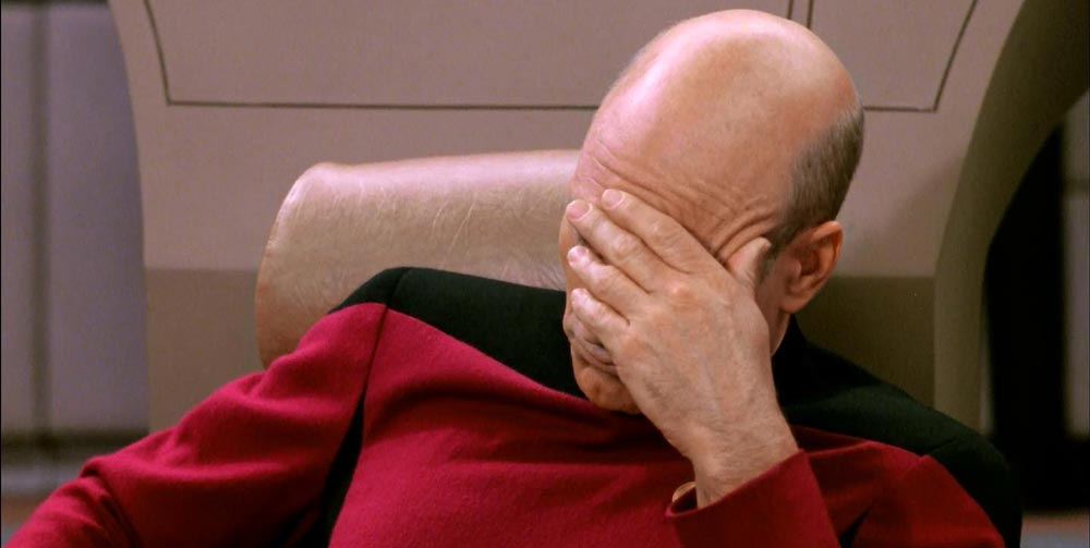 Captain Picard Facepalm Meme