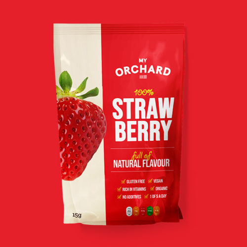 My Orchard Strawberry Packaging