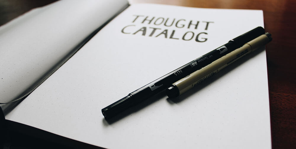note pad with writing