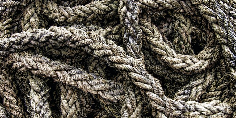 tangled rope