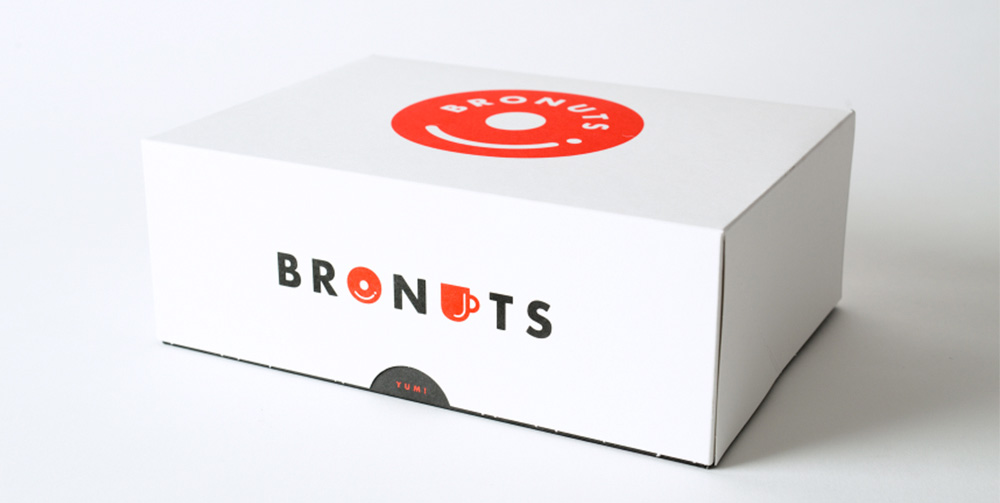 Packaging box of Bronuts