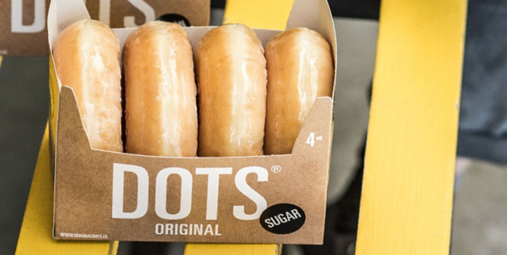 Pack of 4 Dots Original Donuts
