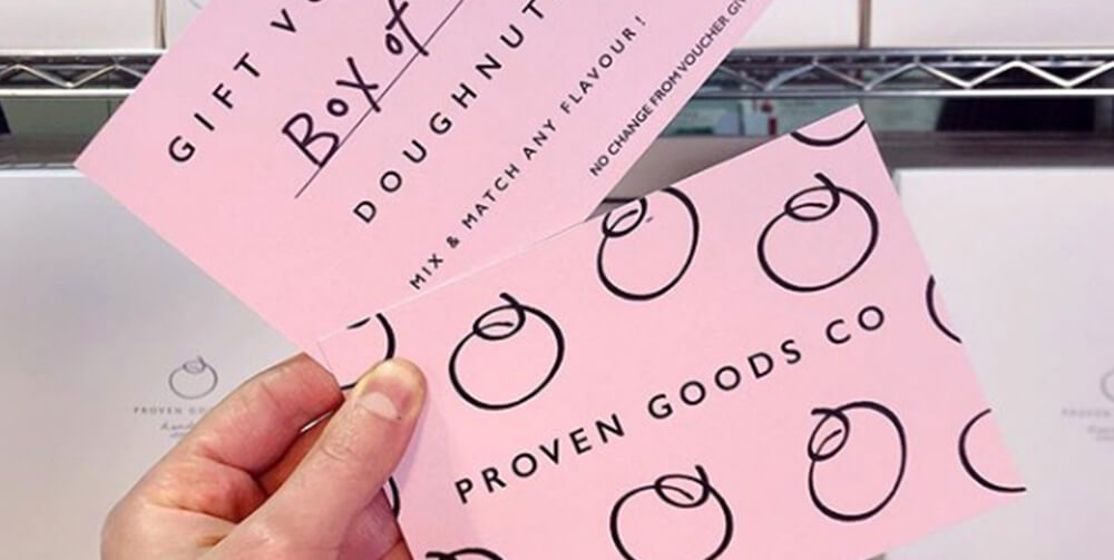 Gift Voucher for Proven Goods Co