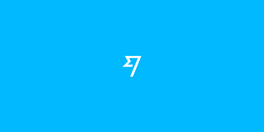 transferwise logo on blue